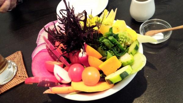 13種類の野菜サラダの写真