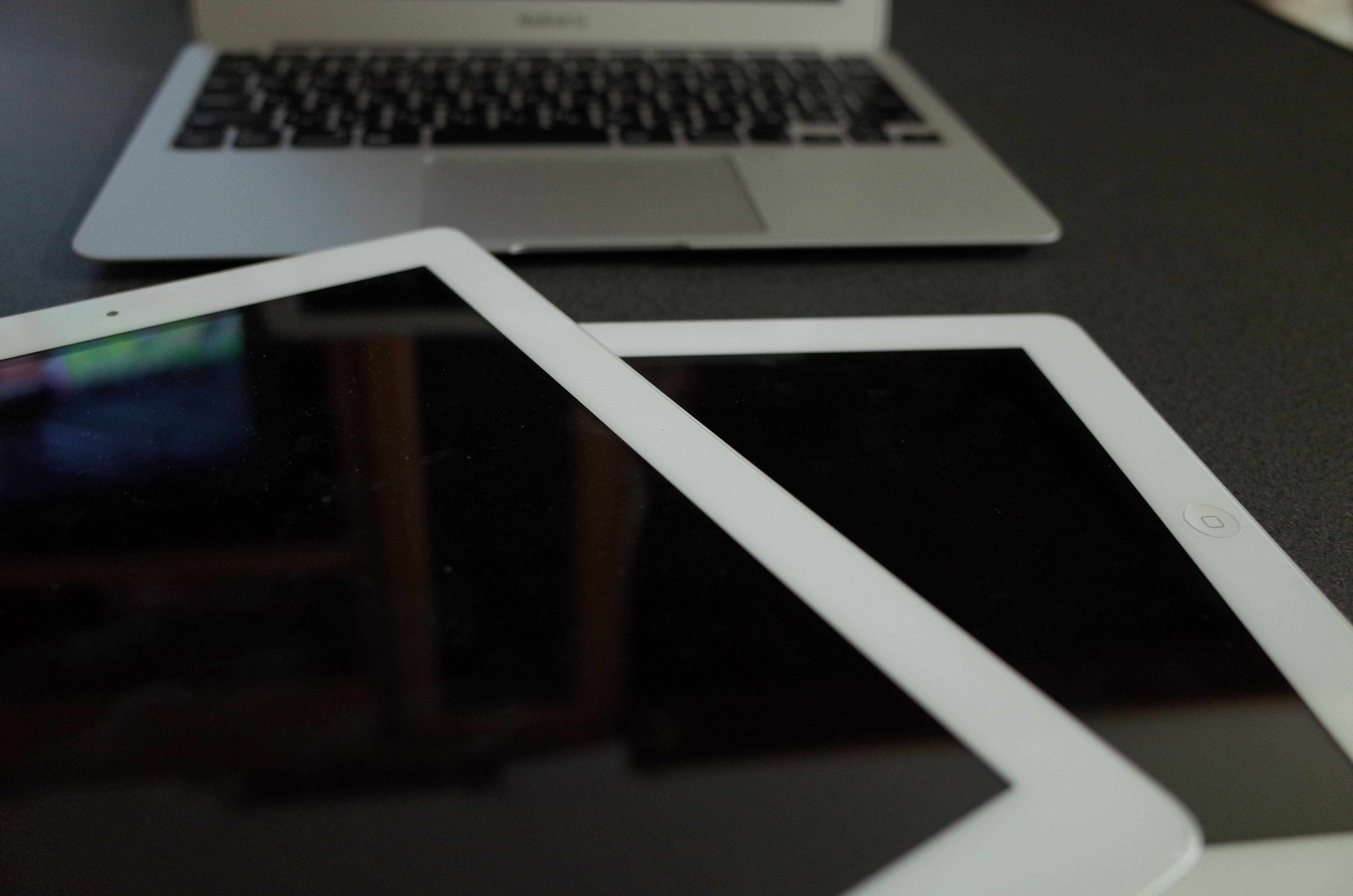 論文はiPadで読む。